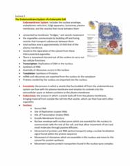 BIOA01H3 Lecture Notes - Lecture 3: Phospholipid, Chloroplast, Extracellular Fluid