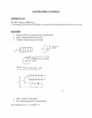 PHYS 272 Lecture 32: Ampere's Law