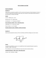 PHYS 272 Lecture Notes - Lecture 21: Resistor
