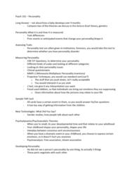PSYC 102 Lecture Notes - Lecture 6: Canoe.Com, Jeffrey Alan Gray, Milgram Experiment