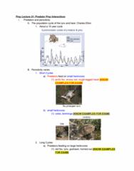 ZOL 355 Study Guide - Midterm Guide: Snowy Owl, Switch, Arctic Fox