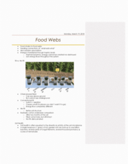 AGR 2050 Lecture Notes - Lecture 23: Soil Health, Food Web, Soil Structure