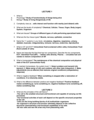 PHIS 206 Study Guide - Midterm Guide: Extracellular Fluid, Endoplasmic Reticulum, Fluid Compartments