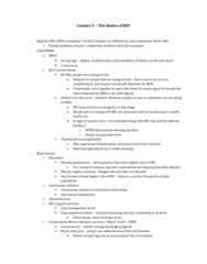 Women's Studies 2163A/B Lecture Notes - Lecture 5: Aids, Opioid Overdose, Needle Exchange Programme