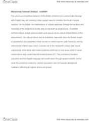 ENG 515A Lecture Notes - Lecture 9: Westernization