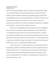 SOC 201 Lecture Notes - Lecture 4: Aldon Morris, Gisselle, Double Consciousness
