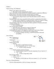 CHEM 110 Chapter Notes - Chapter 6: Junkers J 1, Energy, Magnesium