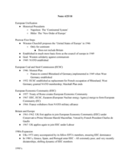 HIST 1400 Lecture Notes - Lecture 20: Nuclear Energy Agency, Harold Macmillan, Monnet Plan