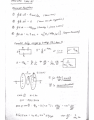 PHYS 272 Lecture 40: Maxwell Equations, Wave on String