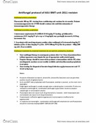 BIOL 101 Study Guide - Quiz Guide: Fluconazole, Zygomycosis, Voriconazole