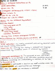 KNES 201 Midterm: KNES 201 Midterm Study Guide