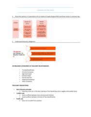 MLL221 Study Guide - Final Guide: Fiduciary, Best Interests, Regal (Hastings) Ltd V Gulliver
