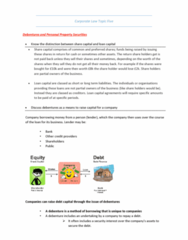 MLL221 Study Guide - Final Guide: Debenture, Share Capital, Natural Person