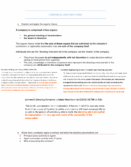 MLL221 Study Guide - Final Guide: Royal British Bank, Twycross, Apparent Authority