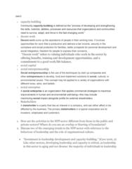 GOVN 400 Lecture Notes - Lecture 5: Organizational Culture, Social Entrepreneurship, Social Capital