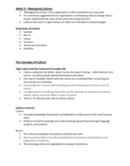 MGMT 110 Lecture Notes - Lecture 5: Nick Leeson, Harold Garfinkel, Collectivism