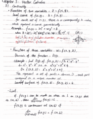 MATH 2004 Lecture 6: MATH2004 chap3.1-3.3 Partial Derivative