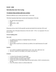 SURV1200 Lecture Notes - Lecture 7: Contour Line