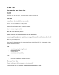 SURV1200 Lecture Notes - Lecture 9: Complex Analysis, 3D Printing
