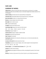 SURV1200 Study Guide - Final Guide: Satellite Navigation, Global Positioning System, Trilateration