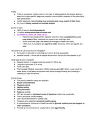 Political Science 1020E Study Guide - Quiz Guide: Relative Risk, Blood Pressure, Transitional Care