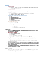 Political Science 1020E Study Guide - Quiz Guide: Canada Health Act, Mental Health Court, Deinstitutionalisation