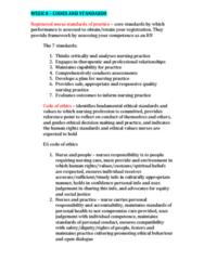 NCS1101 Lecture Notes - Lecture 8: Professional Development, Registered Nurse