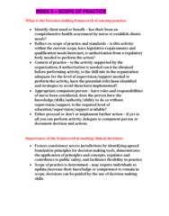 NCS1101 Lecture Notes - Lecture 9: Professional Development, Nursing Care Plan, Decision-Making