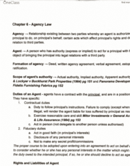 LAWS1120 Study Guide - Final Guide: Apparent Authority, Cgu Plc