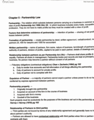 LAWS1120 Study Guide - Final Guide: Limited Liability, Limited Partnership