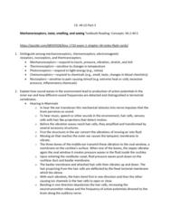 BIOL 1082 Lecture Notes - Lecture 36: Basilar Membrane, Oval Window, Tectorial Membrane