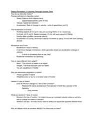 ASTR 1 Lecture Notes - Lecture 6: Weightlessness, Net Force, Vis Viva