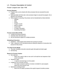 FIT2070 Lecture Notes - Lecture 3: Batch Processing, Program Counter, Process State