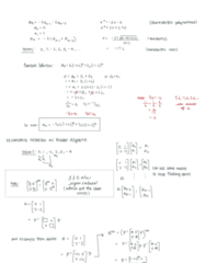 Mth 356 Lecture 21: 8.6 Recurrence Relations