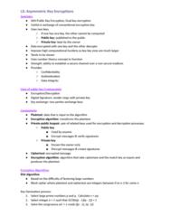 FIT3031 Lecture Notes - Lecture 3: Block Cipher, Public-Key Cryptography, Plaintext