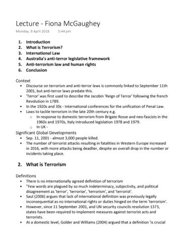 laws1111-lecture-6-terrorism