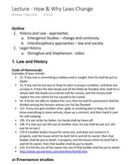 LAWS1111 Lecture Notes - Lecture 8: Intellectual History, Marihuana Tax Act Of 1937, Bloomsbury Publishing