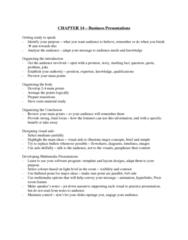 71-100 Chapter Notes - Chapter 14: Prezi
