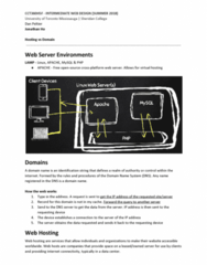 CCT360H5 Study Guide - Final Guide: Web Hosting Service, Virtual Hosting, Mysql