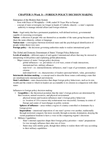 45-160-chapter-3-intro-to-international-relations-textbook-notes-week-3