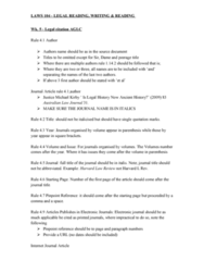 LAWS104 Lecture Notes - Lecture 5: Bloomsbury Publishing, Murdoch University, Australian Contract Law