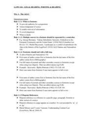 LAWS104 Lecture Notes - Lecture 4: World Trade Organization, Op. Cit., John And Evelyn Billings