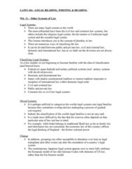 LAWS104 Lecture Notes - Lecture 11: Purposive Approach, Precedent, Westernization