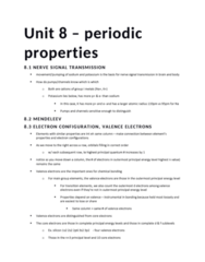 CHEM 217 Lecture Notes - Lecture 8: Wtwo, Alkaline Earth Metal, Periodic Trends