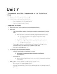 CHEM 217 Lecture Notes - Lecture 7: Atomic Orbital, Ionic Bonding, Emission Spectrum