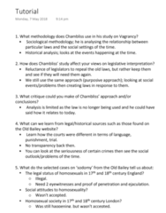 LAWS1111 Study Guide - Final Guide: Old Bailey, Purposive Approach, Ejaculation