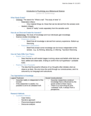 46-115 Lecture Notes - Lecture 5: Malingering, Statistical Inference, Statistical Significance