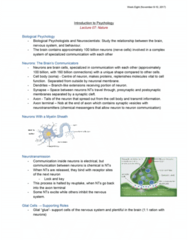 46-115 Lecture Notes - Lecture 8: Fear Conditioning, Behavioural Genetics, Falsifiability