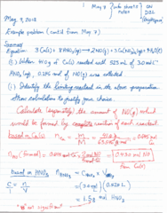 CHEM 1010 Lecture 2: gases