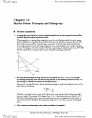 41-221 Chapter Notes - Chapter 10: Learned Hand, Inverse Demand Function, Round-Off Error